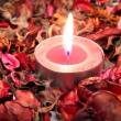 Red candle — Stock Photo #36886839