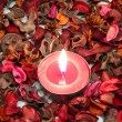Red candle — Stock Photo #36886999