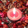 Red candle — Stock Photo #36887127