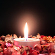Red candle — Stockfoto #36887267