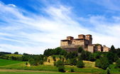 Castle of Torrechiara — Stock Photo