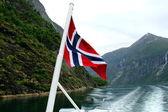 Norvegian fjords — Stockfoto