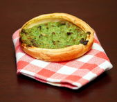 Artichokes pie — Stock Photo