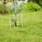 Gardening fork — Stock Photo