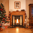 Christmas living room — Stock Photo #13129826