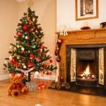 Christmas interior — Stock Photo