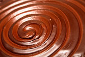 Chocolate swirl — Stock Photo