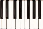 Piano keys — Stock Photo