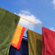 Washing line — Stock Photo