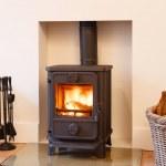 Wood burning stove — Stock Photo #13203858