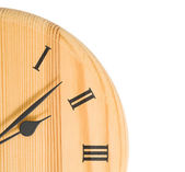 Clock with copy space — Stock Photo