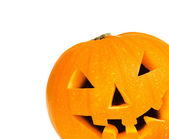 Halloween pumpkin with clipping path — Stock Photo