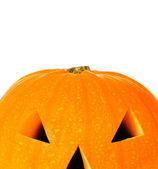 Halloween lantern with copyspace — Stock Photo