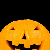 Halloween lantern with clipping path and copyspace — Stock Photo
