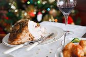 Christmas meal — Stock Photo