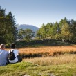 Couple enjoying view — Stock Photo