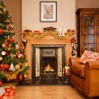 Christmas at home — Stock Photo