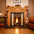 Christmas living room — Stock Photo #13379504
