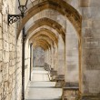 Ancient passageway - Stock Photo