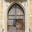 Medieval old door - Stock Photo