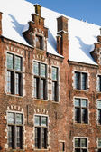 Flemish house — Foto Stock