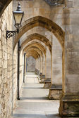 Ancient passageway — Stock Photo