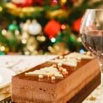 Christmas cake dessert — Stock Photo #30964837