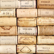 Wine cork pattern background — Stock Photo