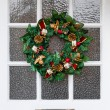 Christmas wreath — Stock Photo #30964869