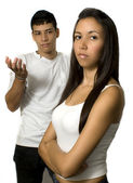 Young couple unhappy — Stock Photo