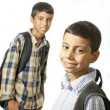 Kids ready for school — Stock Photo