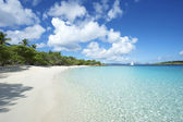 Paradise Caribbean Beach Virgin Islands Horizontal — Stock Photo