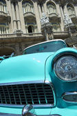 Vintage American Car Havana Cuba — Stock Photo