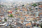 Brazilian Hillside Favela Shantytown Rio de Janeiro Brazil — Stock Photo