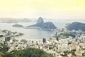 Rio de Janeiro Brazil Skyline Overlook — Stock Photo