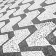 Sao Paulo Brazil Classic Sidewalk Pattern — Stock Photo