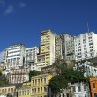 ストック写真: Downtown Salvador Brazil Skyline of Crumbling Infrastructure