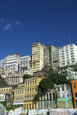Downtown Salvador Brazil Skyline of Crumbling Infrastructure — Stock Photo