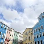 Colorful Colonial Architecture Pelourinho Salvador Brazil — Stock Photo
