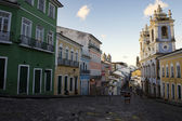 Historic City Center of Pelourinho Salvador Brazil — Stock Photo