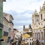 Historic City Center of Pelourinho Salvador Brazil — Stock Photo