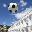 Stock Photo: Socccer Ball Football LapRio de Janeiro Brazil