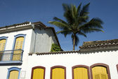 Brazilian Colonial Architecture Paraty Brazil — Stock Photo