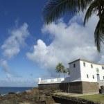 Salvador Brazil Fort Santa Maria in Barra — Stock Photo