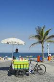 Brazilian Beach Vendor Rio de Janeiro Brazil — Stock Photo
