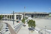 Maracana voetbal voetbal stadion rio de janeiro Brazilië — Stockfoto