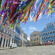 Brazilian Wish Ribbons Pelourinho Salvador Bahia Brazil — Stock Photo #44015183
