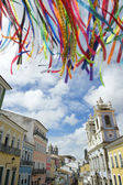 Brazilian Wish Ribbons Pelourinho Salvador Bahia Brazil — Stock Photo