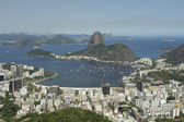 Rio de Janeiro Brazil Skyline Scenic Overlook — Stock Photo
