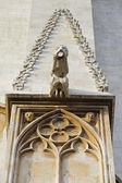 Gargoyle detalj på templet i tarragona — Stockfoto